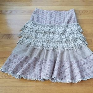 ANTHROPOLOGIE HAZEL HAZEL HAZEL SKIRT